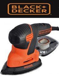 BLACK DECKER SZLIFIERKA MOUSE 120 W KA2500K
